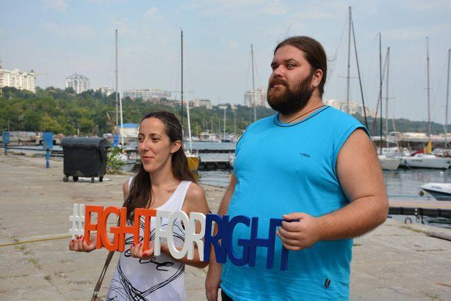#FightForRight, Юлія Сачук та Ігор Шрамко
