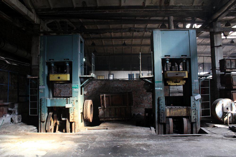 Цех обработки металла